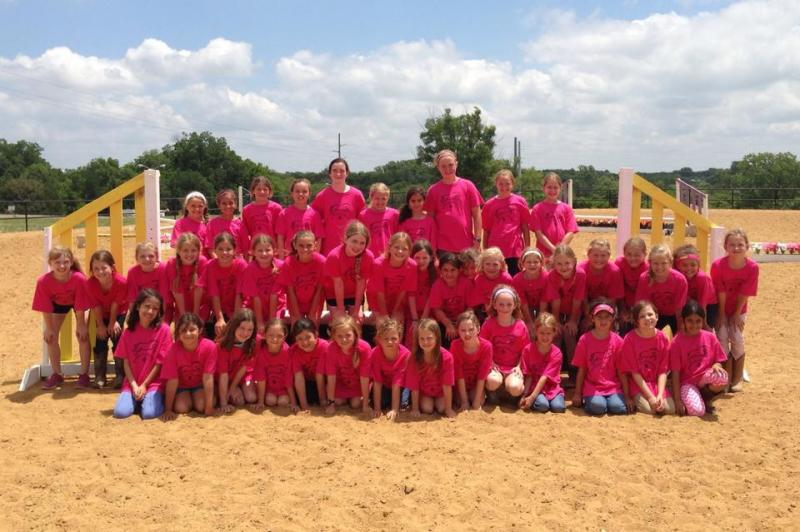 Dallas Horseback Riding Camp For Young Girls Merriwood Ranch